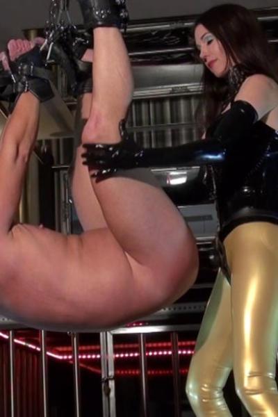 Slave gets hard ride