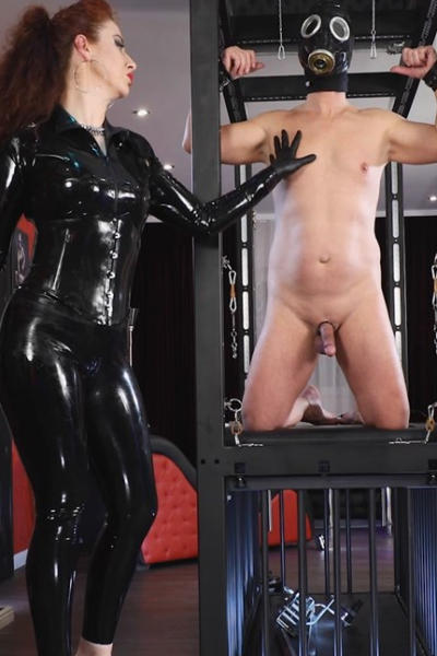 Lady SOPHIA and slave