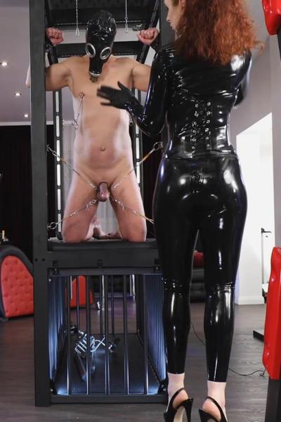 Lady SOPHIA and gasmasked slave