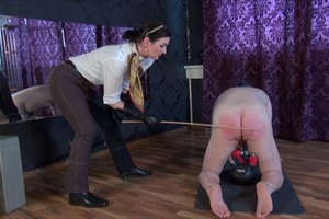 Real kinky corporal punishment