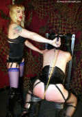 Mistress can spank and punish that sissy